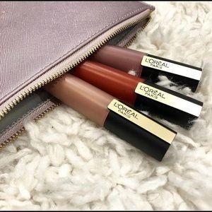 3 L'Oréal Paris Makeup Rouge Signature Lip Stain